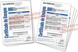 Certificados BL y B4